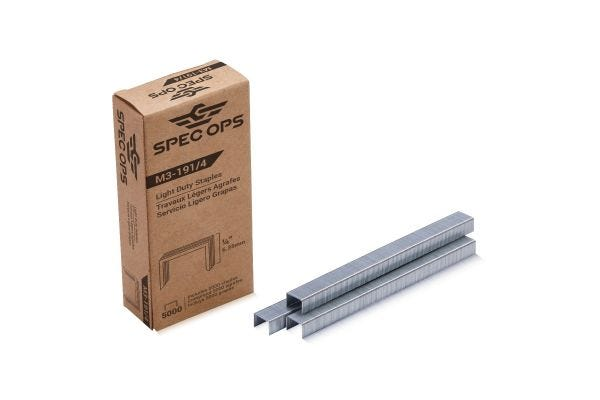 Spec Ops Tools 1/4-in Staples for M3 Plier Stapler