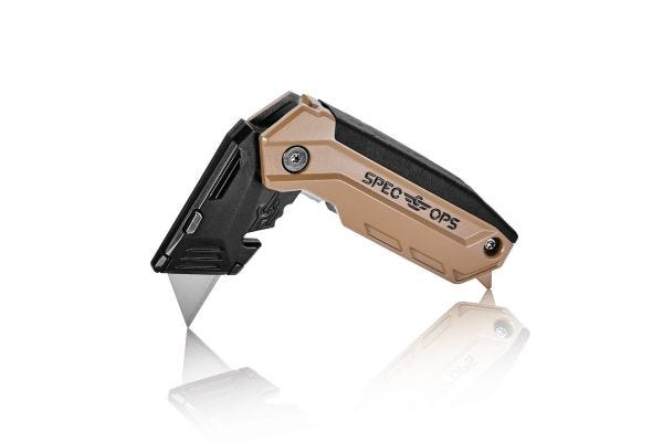 Spec Ops Tools Fixed-Blade Folding Utility Knife