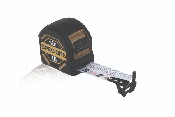 Spec Ops Tools 16-Ft Tape Measure